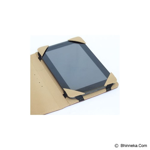 UNEED Universal Case Camera for 7 inch Tablet [UCUN7003C] - Brown - Casing Tablet / Case